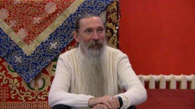 Второй день семинар Ведагора в буддистском центре