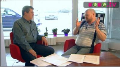 Представитель ОД в Екатеринбурге на ТВ