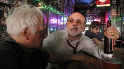 Пьяный Бернанке или доллар - фантик