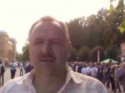 Комментарии Романа Ключника о митинге Кургиняна