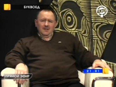 Роман Ключник в программе Буквоед, 8 декабря 2011