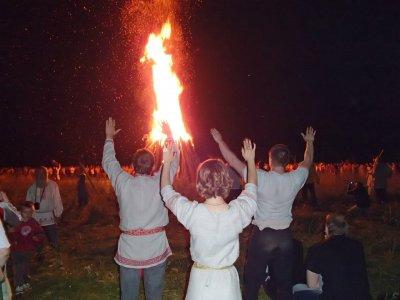 Самое массовое празднование Купало под Малоярославцем, 2013