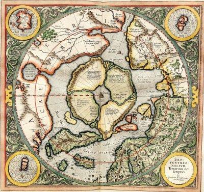 Карта Гипербореи содержит неточности