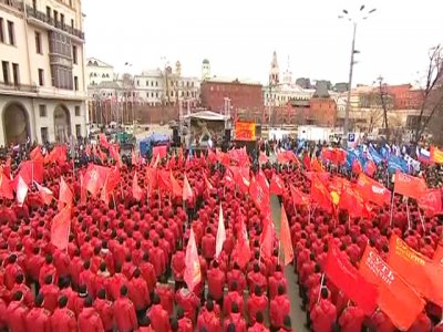 Митинг Кургиняна это апогей кремлевских политтехнологов