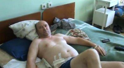 Пострадавшие жители Луганска о бомбежках, 26.07.2014г.