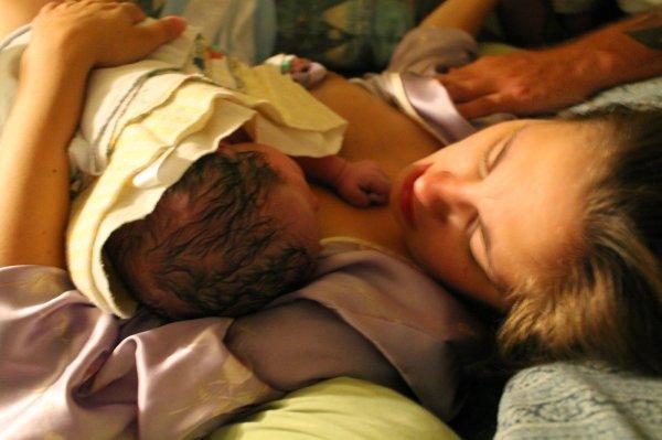 фото рожающих девушек