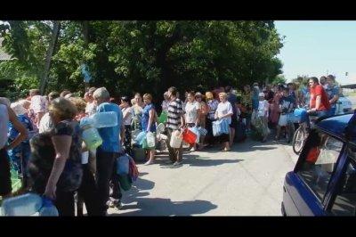 Батальон Леший решает проблемы с питьевой водой в Луганске
