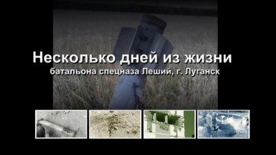 Несколько дней из жизни ополчения, г. Луганск