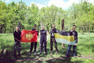 Посещение капища в Донецке