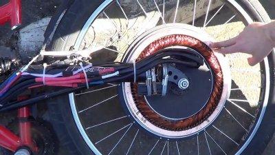 Модель мотор-колеса для авто. Асинхронное велоколесо. Дмитрий Дуюнов