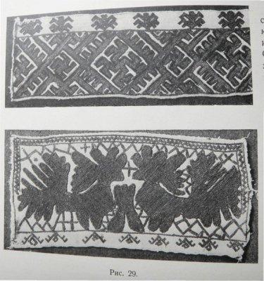 Свастика в русской национальной одежде