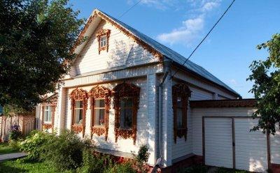 Русское зодчество: деревянные дома Суздаля
