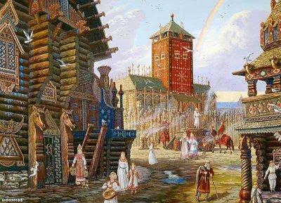 Центр русской культуры как источник информации о древнерусской традиции