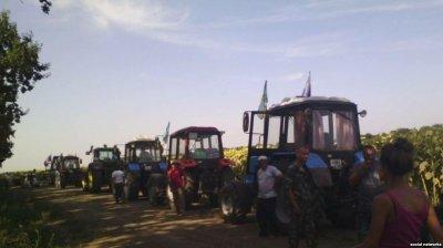 Протестующих фермеров Краснодара избили и поломали челюсть