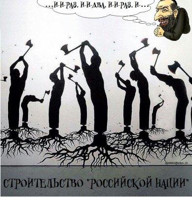 События прошлой недели - как отражение всей ситуации в России. О новой  путинской нации - российской
