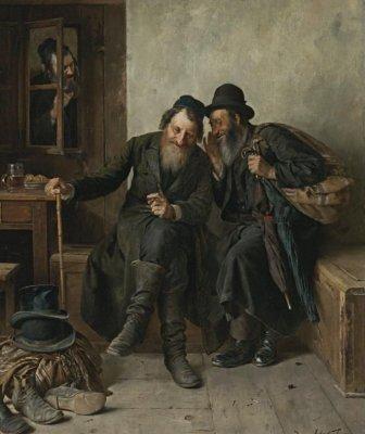 Об опасности иметь общие дела с евреями
