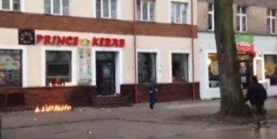 Поляки разгромили кафе арабов после убийство мигрантами соотечественника