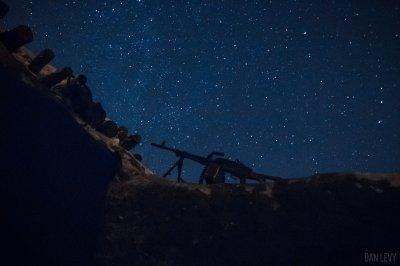 Ночи на передовой в Донбассе