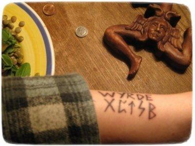 О влиянии татуировок