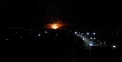 Весёлое зарево над Харьковом. Подорван крупнейший склад боеприпасов на Украине