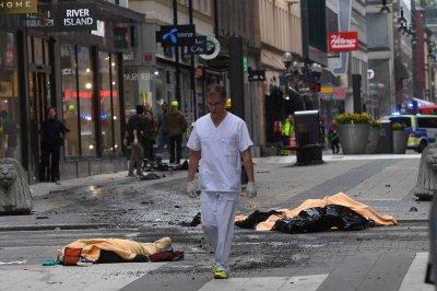 Совершена террористическая атака на Швецию