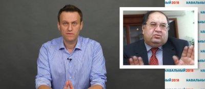 Навальный раскрывает олигархические связи между Усмановым и Медведевым