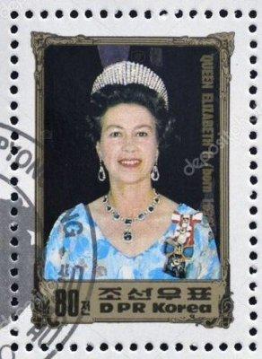 Как северокорейские коммунисты королеву чествуют