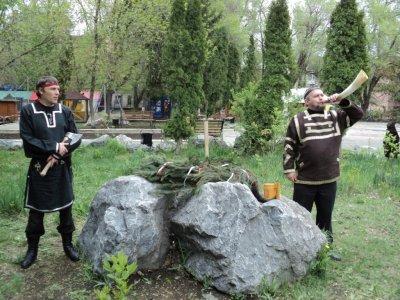 Представитель КПРФ предложил установить в парке Победы Саратова языческого кумира