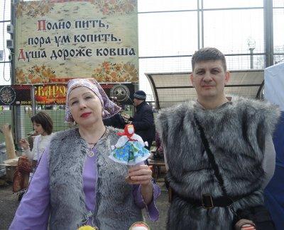 Русский день на первомайской площадке