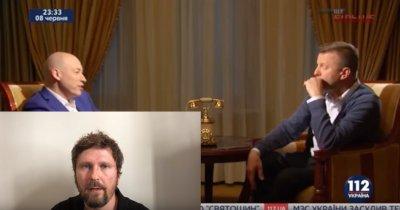 Шарий о том, как Парфёнов на украинское телевидение ходил