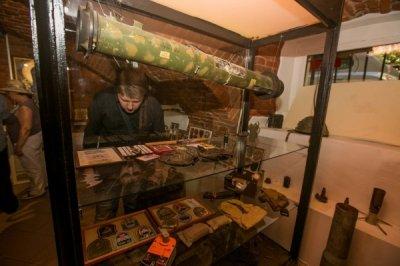 Писатели в музее Воинской доблести Донбасса