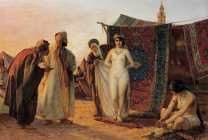 Белые рабыни девственницы смотреть