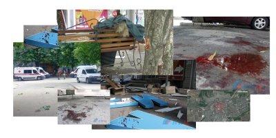 Двойной теракт украинских фанатиков в Луганске