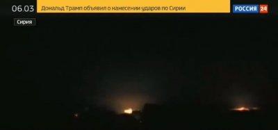 Подлая ложь путинских пропагандонов: обстрел Луганска, выдали за обстрел Сирии