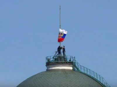 Намёк небес: На инаугурации Путина не поднялся штандарт президента