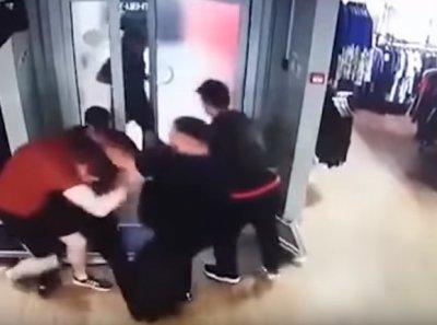 В Москве многонациональная банда избила продавцов и ограбила магазин Adidas
