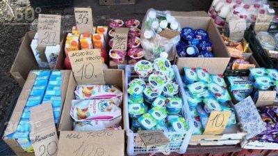 В Красноярске люди покупают просроченные продукты