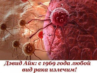 Любой вид рака можно излечить еще с 1969 года