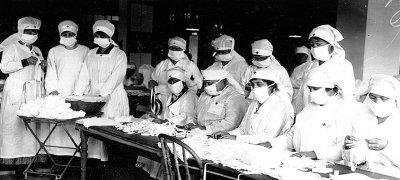 Массовая вакцинация была причиной эпидемии испанского гриппа 1918 г. ?